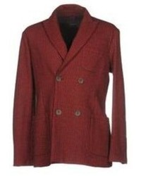 Blazer doppiopetto bordeaux