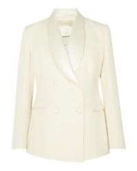 Blazer doppiopetto di lana bianco di Giuliva Heritage Collection