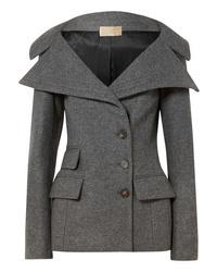 Blazer doppiopetto di lana grigio di Antonio Berardi