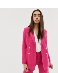 Blazer doppiopetto fucsia di UNIQUE21