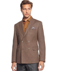 Blazer doppiopetto marrone