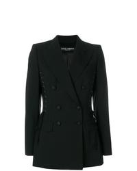 Blazer doppiopetto nero di Dolce & Gabbana