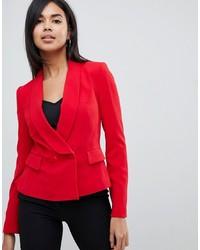 Blazer doppiopetto rosso di Karen Millen