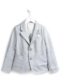 Blazer grigio di Armani Junior