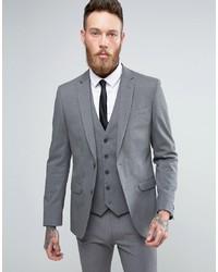 Blazer grigio di New Look