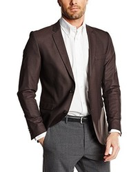 Blazer marrone scuro di JACK & JONES PREMIUM
