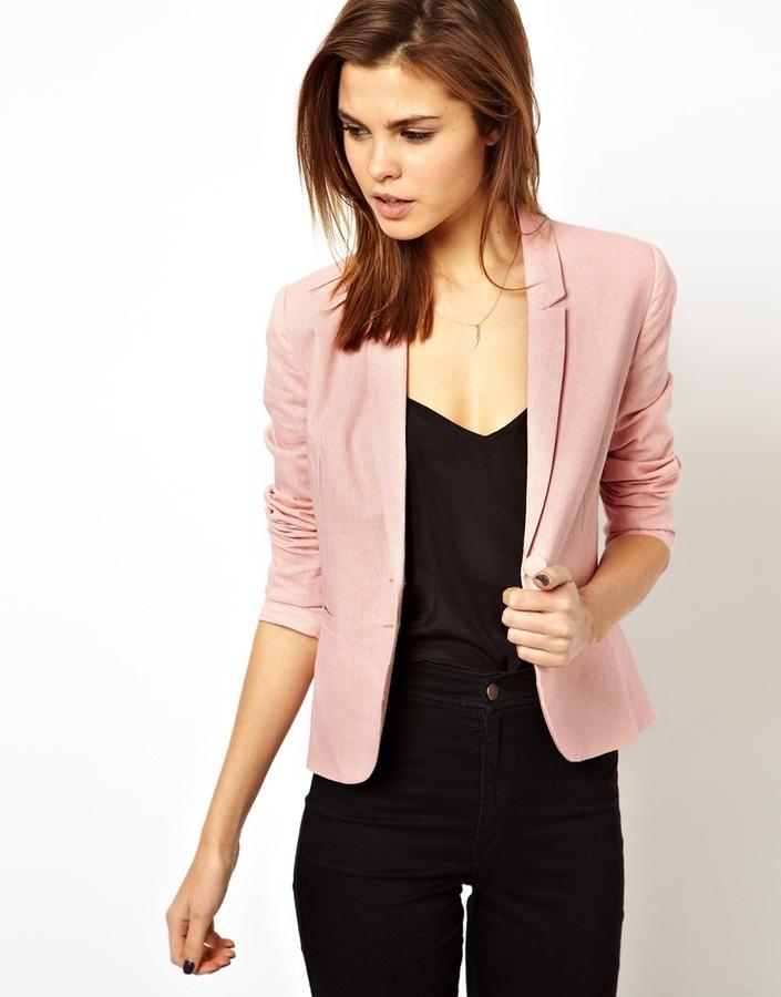 new styles 88d49 11ab7 Blazer rosa di Asos
