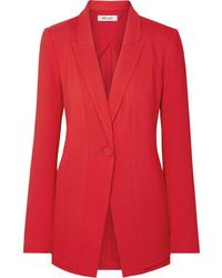 Blazer rosso di Diane von Furstenberg
