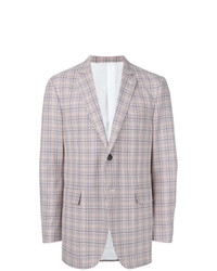 Blazer scozzese grigio di Calvin Klein 205W39nyc