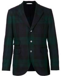 Blazer scozzese verde scuro