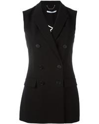 Blazer senza maniche nero di Givenchy