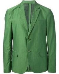 Blazer verde di Salvatore Ferragamo