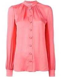 Blusa abbottonata rosa di Lanvin