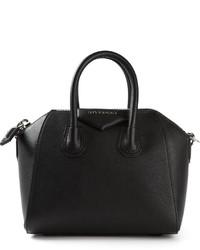 Borsa a mano in pelle nera di Givenchy