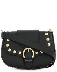 Borsa a tracolla con borchie nera di Marc Jacobs