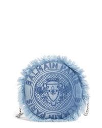 Borsa a tracolla di jeans blu