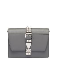 design senza tempo 29aea cf305 Borse a tracolla grigie da donna di Prada   Moda donna ...