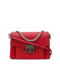 Borsa a tracolla in pelle rossa di Givenchy