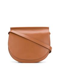 Borsa a tracolla in pelle terracotta di Givenchy