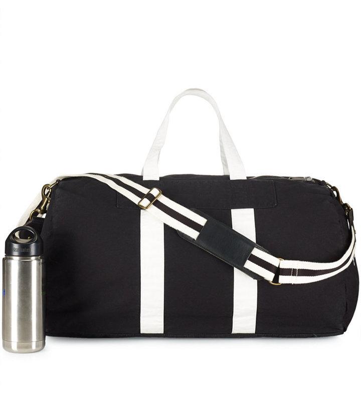 cafec085da closeout polo ralph lauren polo player canvas duffle bag navy 1 5d6e9  b3ab5  best price borsa per lo sport di tela nera e bianca di polo ralph  lauren 8f1b1