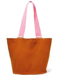 Borsa shopping arancione di Sophie Anderson