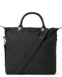 Borsa shopping di tela nera di WANT Les Essentiels