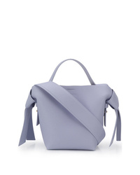 Borsa shopping in pelle azzurra di Acne Studios