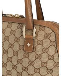 86cbc9e07a Borsa shopping in pelle marrone chiaro di Gucci Vintage, €2,536 ...