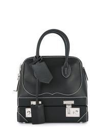 Borsa shopping in pelle nera di Calvin Klein 205W39nyc
