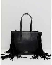 Borsa shopping in pelle nera di Max & Co.