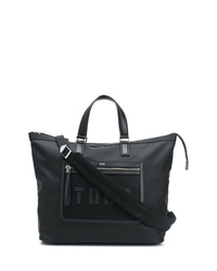 Borsa shopping in pelle nera di Tod's