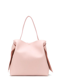 Borsa shopping in pelle rosa di Acne Studios