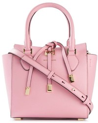 Borsa shopping in pelle rosa di Michael Kors
