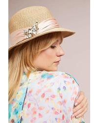 Borsalino decorato beige