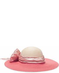 Borsalino decorato rosa