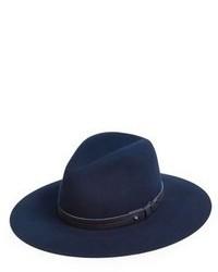 Borsalino di lana blu scuro