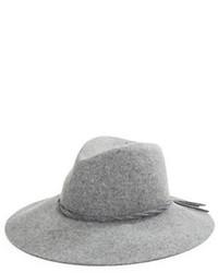 Borsalino di lana grigio