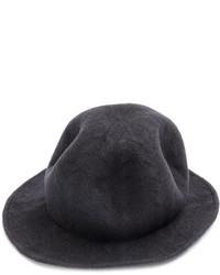 Borsalino di lana grigio scuro di CA4LA