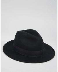 Borsalino di lana nero di Asos