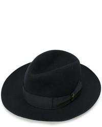 Borsalino di lana nero di Borsalino