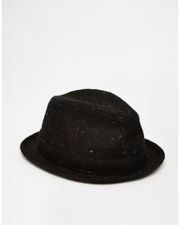 Borsalino di lana nero di Goorin Bros.