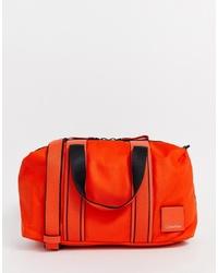 Borsone arancione di Calvin Klein