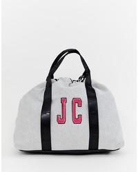 Borsone di tela grigio di Juicy Couture