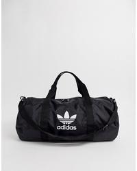 Borsone di tela nero di adidas Originals