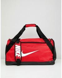 Borsone di tela rosso di Nike
