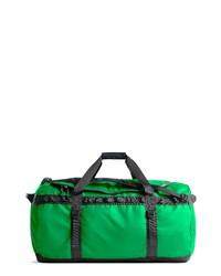 Borsone di tela verde