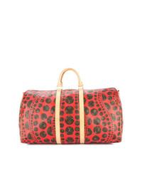 Borsone in pelle rosso di Louis Vuitton Vintage