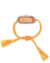 Bracciale arancione di Shourouk