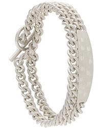 Bracciale argento di Maison Margiela