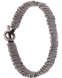 Bracciale con perline argento di M. Cohen